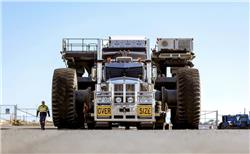National Group delivers five Liebherr ultra-class trucks to BHP mine