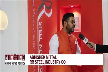 Video interview of RR Steel Industry CEO