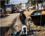 South Africa economy silence contrasts with drastic virus steps