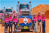 Atlas Iron trucks first Sanjiv Ridge iron ore