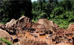Congo bans mining in South Kivu village after gold rush