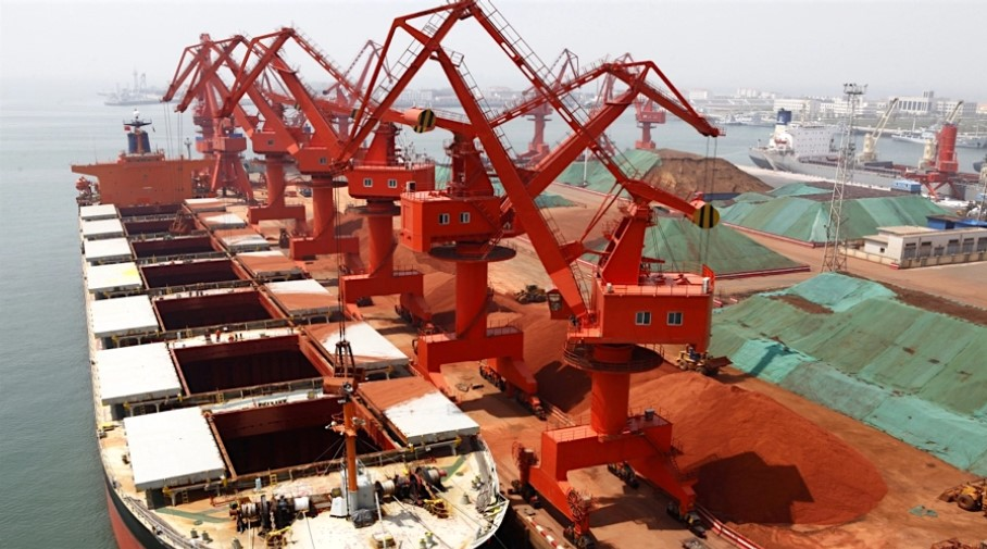 Iron price gains as China imports leap to over 1 billion tonnes