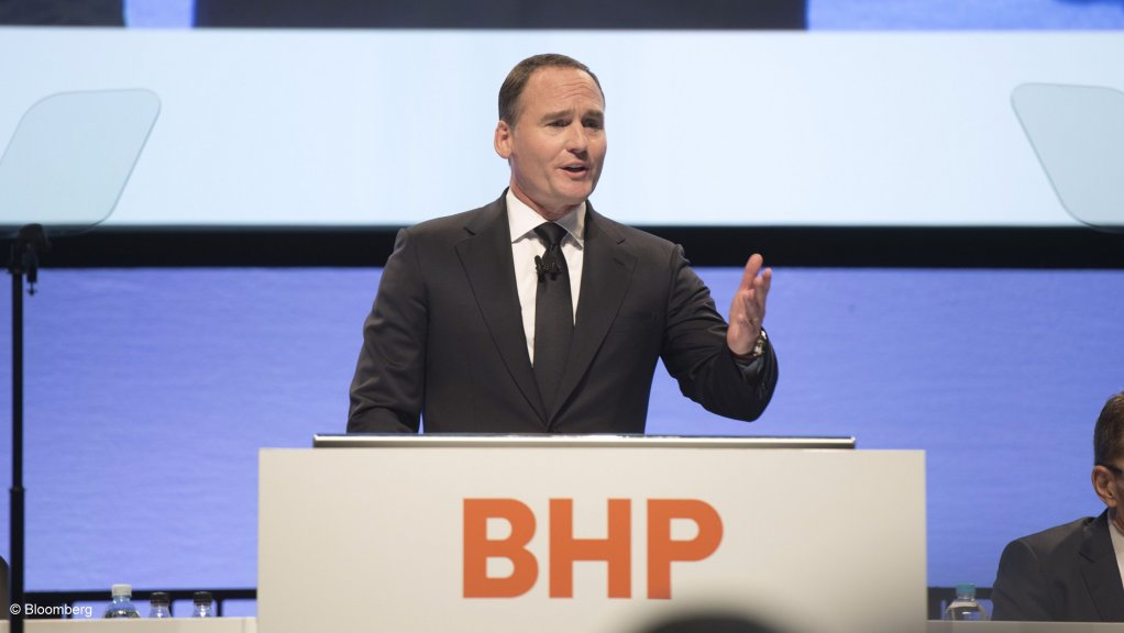 BHP in `good shape` to act if coronavirus disruption brings M&A openings