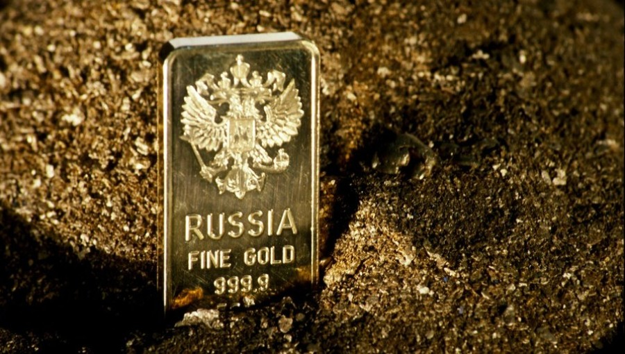 Russia`s gold production down 7% y/y to 314 t in Jan to Nov