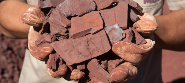 Iron ore prices resurface after dive