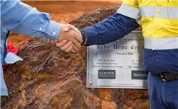 Hancock and Rio Tinto open new Pilbara mine