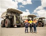 BHP rents five new Liebherr T 282 C trucks from National for Peak Downs
