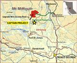 Orestone Mining expands Captain project